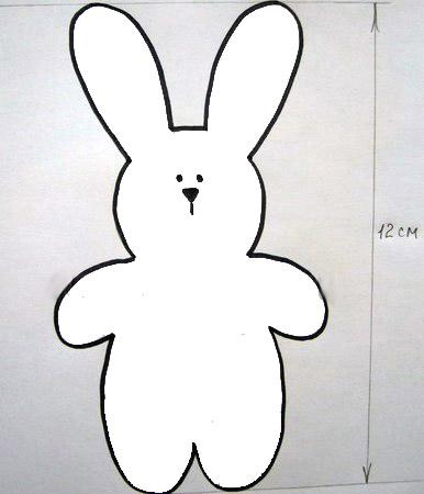Как сшить зайца маленького