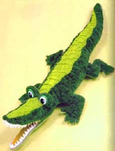 Выкройка игрушки Крокодил