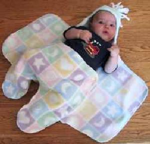 Выкройка конверта для новорожденного малыша. Как сшить своими