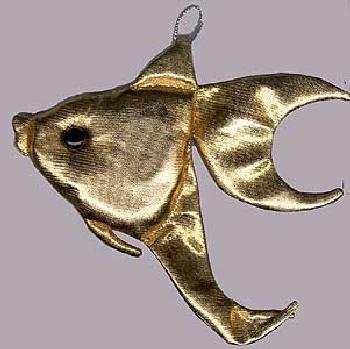 """Выкройка """"Золотая рыбка"""" (детская выкройка)."""