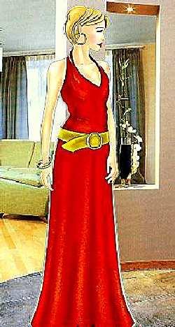 платье из шелка выкройка