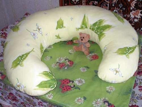Выкройка подушки малышу для кормпления