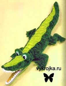 """Мягка игрушка для детей """"Крокодил"""""""