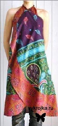 Выкройка летнего женского сарафана. Привет, уважаемые коллеги