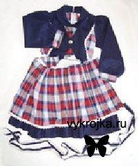 Выкройка юбки для девочки