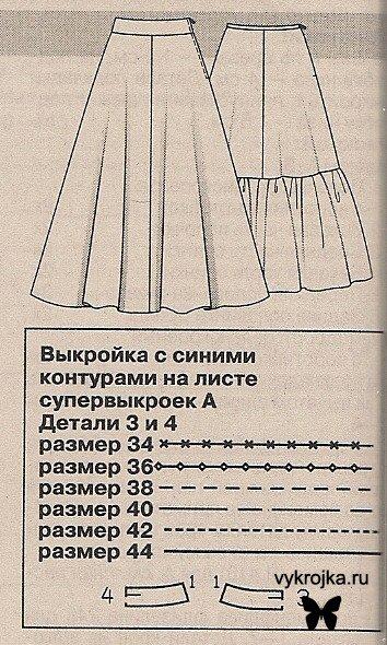Платье в клетку бурда выкройки