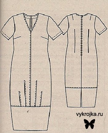 Выкройка платья Буль