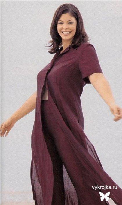 Выкройка платья-туники и брюк