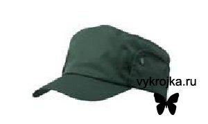 Выкройка кепи в стиле жокейки