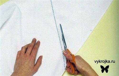 Выкройка простыни на резинке