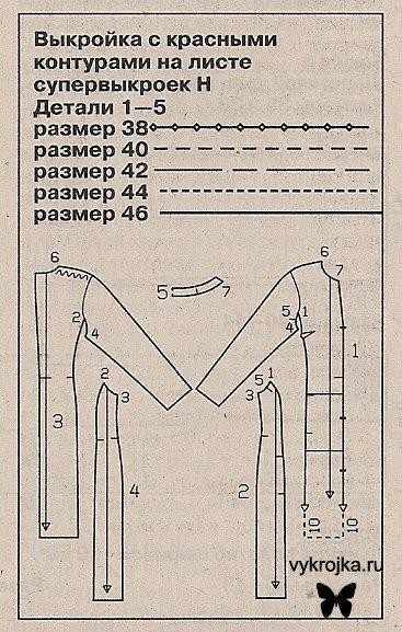 Сшить пальто с цельнокроеным рукавом своими руками