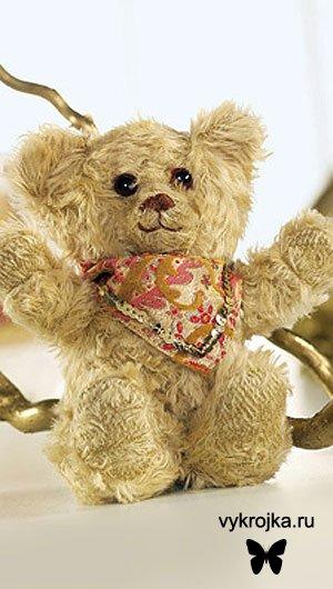 Выкройка игрушки Плюшевый медвежонок