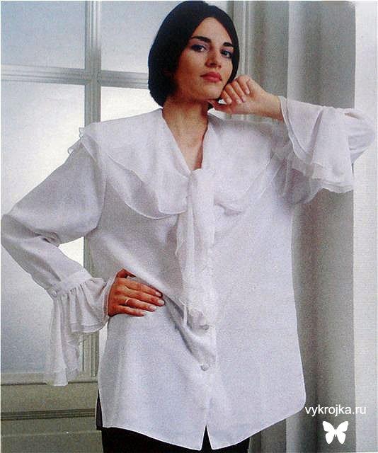 7727bbf6439 Шьем красивую белую блузку. Обсуждение на LiveInternet - Российский Сервис  Онлайн-Дневников