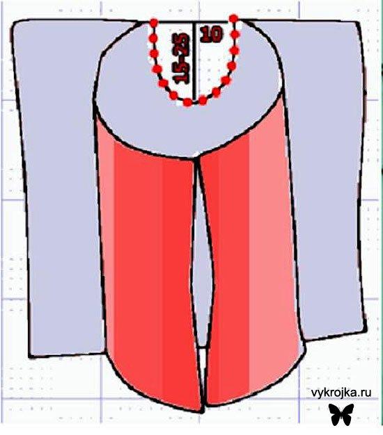 Выкройка штанов для занятий восточными танцами