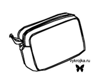 выкройка сумочки дорожной - Сумки.