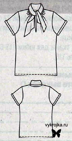 Выкройка костюма из шерстяного крепа