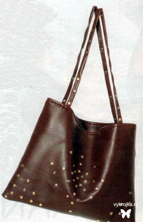 Как сшить сумку своими руками: из джинсы, из кожи, выкройки. выкройки.