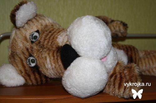 Выкройка игрушки Тигруля