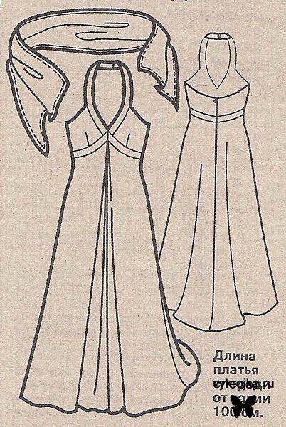 Платья своими руками выкройка - Брендовые платья